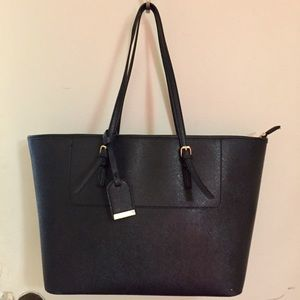 Handbags - Sole Society structured tote bag